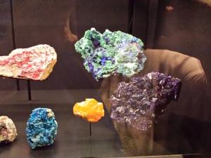 variety of minerals